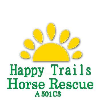 Happy Trails Farm Horse Rescue Logo